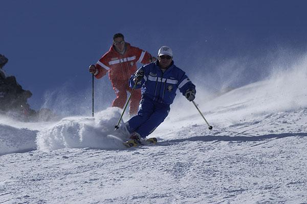 Ski carving instructor helmuth schieder skicarving